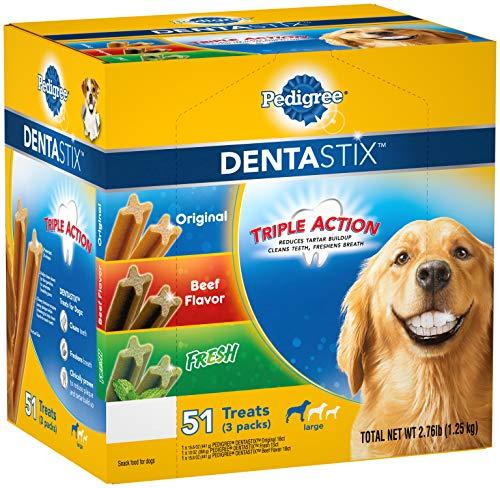 Pedigree Dentastix 51-Treat Variety Pack, Large