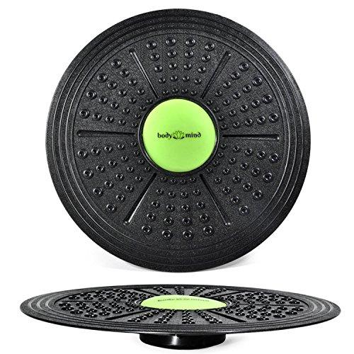Balance-Board Deluxe Wackelbrett für Physio-Therapie-Kreisel-Training; Trainiert Gleichgewicht & Koordination