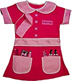 Girls Boys Dress Up Costume Childrens Kids Party Outfit Fancy Dress - Beautician (3-5 years, Beautician)