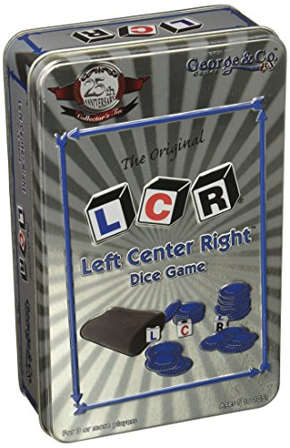 Left Center Right Dice Game - 25th Anniversary Collector's Tin