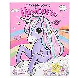 Depesche 10534 Malbuch Create Your Unicorn, Ylvi und die Minimoomis, bunt