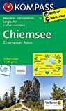 Chiemsee - Chiemgauer Alpen: Wanderkarte mit Aktiv Guide, Radwegen und Loipen. GPS-genau. 1:50000: Wandelkaart 1:50 000 (KOMPASS-Wanderkarten, Band 10)