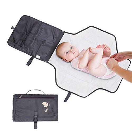 Baby Wickelunterlage, pyhot Wasserdicht Best Travel Baby Buggy Wickelunterlage Kit mit Aufbewahrungstaschen für Supermarkt (Braucht Was)
