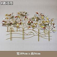 Y-Hui hierro muros de pared para montaje en pared Gateway-To estéreo-Hyeon-Decorated Salón muebles, accesorios para el hogar ,F) - Pequeños