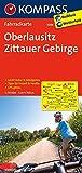 KOMPASS Fahrradkarte Oberlausitz - Zittauer Gebirge: Fahrradkarte. GPS-genau. 1:70000: Fietskaart 1:70 000 (KOMPASS-Fahrradkarten Deutschland, Band 3086)