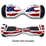 #2: Generic Hover Electric Protective Boards Stickers For Two Wheel Self Balance Board - Star & Strips