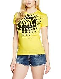 DW7020520106 Bikkembergs Camiseta Manga Corta Mujer Algodón Amarillo