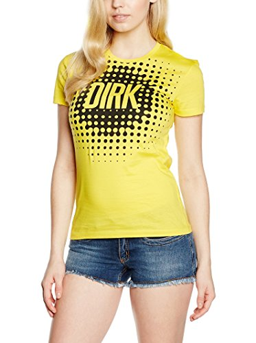 DW7020520106 Bikkembergs T-Shirt Damen Baumwolle Gelb Gelb