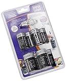 Energy Sistem NNatura Converter - Pack de 8 adaptadores de baterías a tamaños C y D