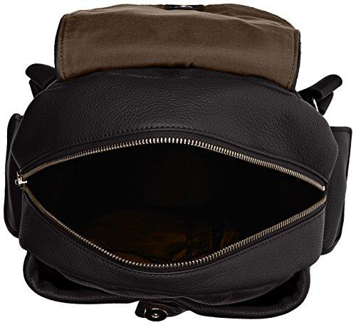 Kipling City Pack S Kp, Sac porté dos Noir (Black)