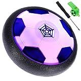 Lictin Air Fussball Hover Power Ball Indoor Fußball mit LED Beleuchtung Geschenk Spielzeug für Kinder Haustier