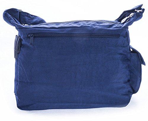 Big Handbag Shop - Borsa a tracolla donna Verde (Verde oliva)