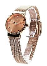 Skagen Damen-Armbanduhr Analog Quarz Edelstahl beschichtet SKW2197