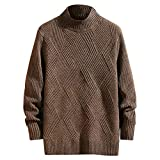 Hoodie Sweatshirt Herren Btruely Herbst Winter Lose Patchwork Pullover Langarm Outwear Herren Winter Casual Langarm Strickpullover Tops Bluse -
