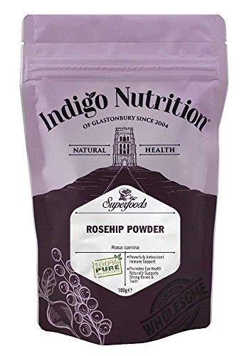 Indigo Herbs Hagebutte Pulver 100g -