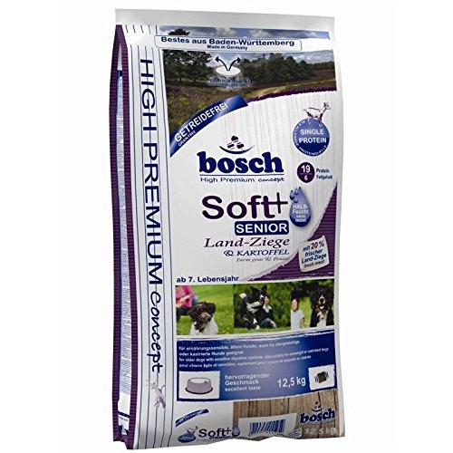 Bosch Soft Senior Ziege & Kartoffel 2x12,5kg   getreidefreies Hundefutter