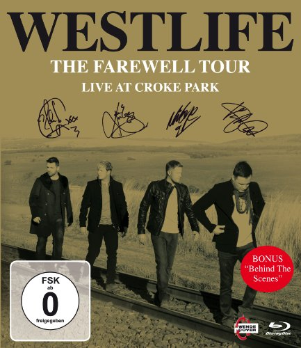 Westlife: The Farewell Tour - Live at Croke Park Blu-ray (BBC)