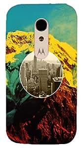 Toppings Designer Soft Back Case Cover for Motorola Moto G2