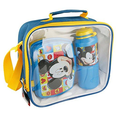 SET BACK TO SCHOOL (BOTELLA SPORT - SANDWICHERA FUNNY - BOLSA AISLANTE) Mickey Mouse ICONS