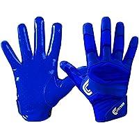 Cutters S451Rev Pro 2.0Phantom Camo American Football Receptor Guantes, color azul cobalto, tamaño extra-large