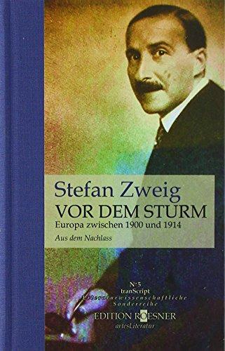 VOR DEM STURM: Europa zwischen 1900 und 1914 (tranScript)