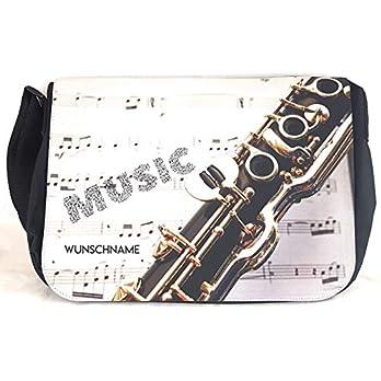 Notentasche Dokumententasche Schultasche – für Klarinette, gerne auch mit Namen personalisiert