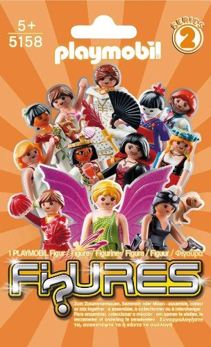 Playmobil 5158 - Figures Girls (Series 2)