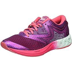 Asics Gel-Noosa FF, Zapatillas de Running para Mujer, Morado (Prune/Glacier Sea/Rouge Red), 38 EU