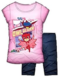 Pj Masks Super Heroes en Pijamas camiseta y pantalone original made in Italy