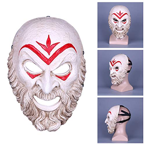 Kostüm Maske Assassin - Halloween Show Cosplay Assassin Odyssey Bösewicht Masken Erwachsenen Kostüm Zubehör Geistermaske für Party Dress Up Kostüm