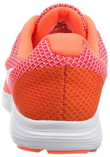 Nike NikeNike Revolution 3, Damen Laufschuhe - Scarpe Running Donna Orange (Hyper Orange/White-Atomic Pink-Bright)