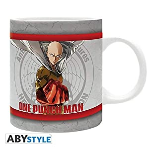 ABYstyle - ONE PUNCH MAN - Taza - 320 ml - Héroes