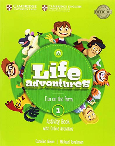 Life Adventures Level 1 Activity Book with Home Booklet and Online Activities por Caroline Nixon