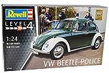 Revell Volkwagen Käfer Coupe Polizei 1968 07035 Bausatz Kit 1/24 Modell Auto