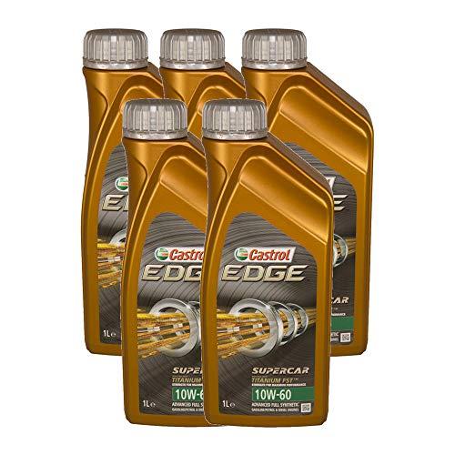 Olio motore auto Castrol Edge Titanium FST Supercar 10W60-5 LITRI