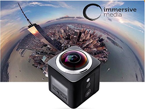 4-K-Panorama-360-16-MP-Video-Kamera-VR-Action-Kamera-220--Ultra-Weitwinkelobjektiv-Sport-Kamera-30-fps-Full-HD-DV-Camcorder-WiFi-Steuerung-fr-die-24-G-Fernbedienung-mit-30-m-wasserdicht-Kamera-HDMI-HD