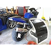 Nero forcellone Curve montaggio laterale targa staffa per SUZUKI GSXR 600750
