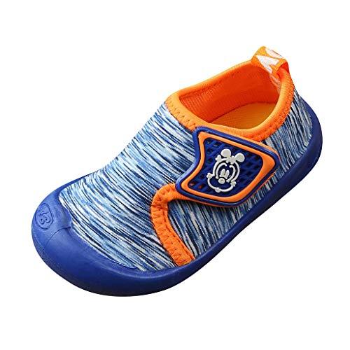 Snakell Kinder Schuhe Sportschuhe Mesh Atmungsaktiv Laufschuhe Outdoor Sneaker Turnschuhe Klettverschluss Wanderschuhe Hallenschuhe für Jungen Herren Kinder