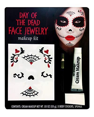 Horror-Shop Tag der Toten Make-up Kit & (Tag Der Toten Make Up Kit)