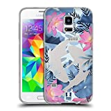 Head Case Designs Koi Fish Wilder Wald Soft Gel Hülle für Samsung Galaxy S5 Mini