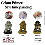 The Army Painter Skeleton Bone Colour Primer - 400ml, 13.5oz Matte Acryllic Spray Paint for Tabletop Roleplaying, Boardgames, and Wargames Miniature Modelling and Painting