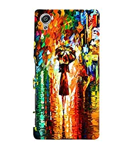 GADGET LOOKS SILICONE PRINTED BACK COVER FOR Sony Xperia XA Ultra MULTICOLOUR
