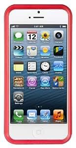 Zerochroma Vario Coque pour iPhone 5 Rouge/transparent
