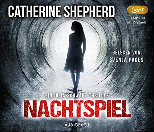 Nachtspiel - Ein Fall für Julia Schwarz (ungekürzte Lesung auf 1 MP3-CD mit 580 Minuten) (Audio-bücher Von Schwarzen Autoren)