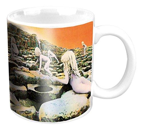 empireposter - Led Zeppelin - Houses of the Holy - Größe (cm), ca. Ø8,5 H9,5 - Lizenz Tassen, NEU - Led Zeppelin Boxed Mug: Houses of The Holy - Beschreibung: - Keramik Tasse, weiß, bedruckt, Fassungsvermögen 320 ml, offiziell lizenziert, spülmaschinen- und mikrowellenfest - (Led Zeppelin Kaffeetasse)