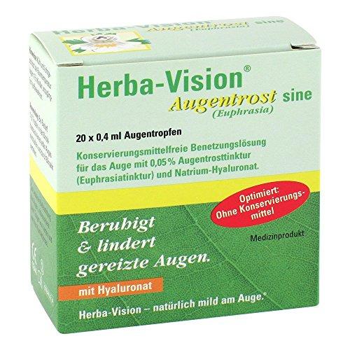 Herba-vision Augentrost sine Augentropfen 20X0.4 ml