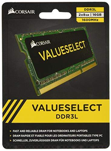 Sodimm-corsair (Corsair CMSO16GX3M2C1600C11 Arbeitsspeicher 16GB (1600MHz, 2X 8GB) DDR3-RAM)