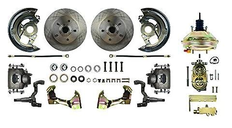 RIGHT STUFF DETAILING AFXDC03C 62-67 X Body Front Power Disc Brake Conversion