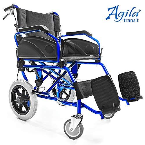 AIESI Silla Ruedas plegable Ultra-ligera aluminio