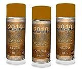 Rosteffektspray rostorange 3x400ml Spraydose